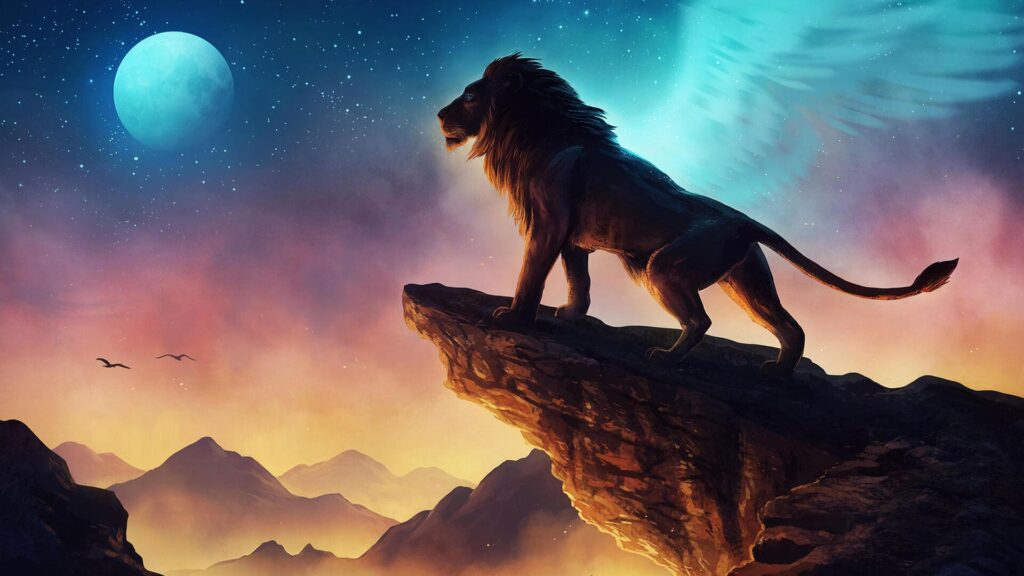 Lion Pc Background