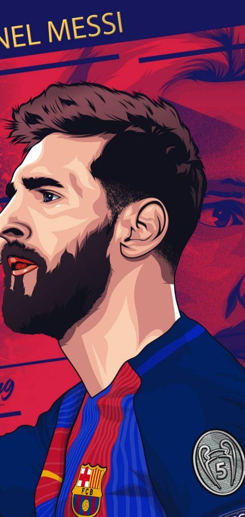 Messi Background