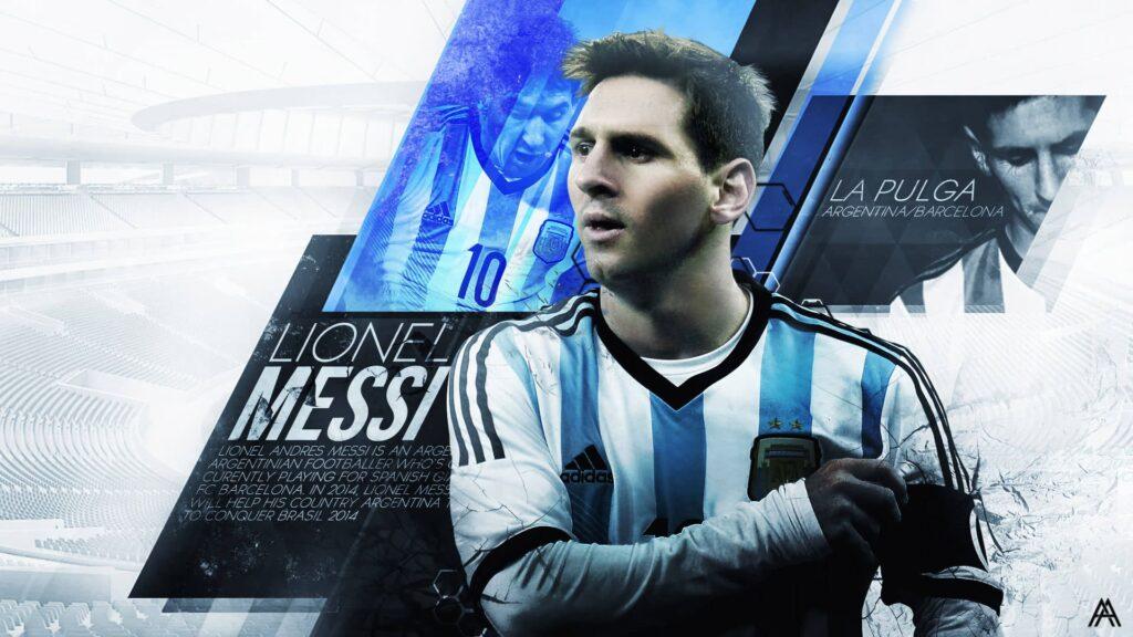 Messi Desktop Wallpaper 4k