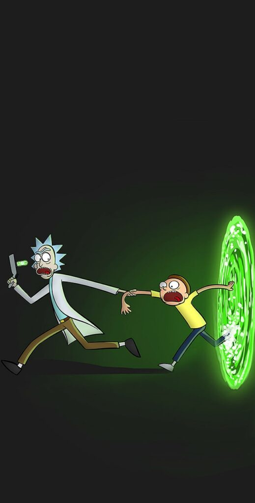 new rick and morty wallpaper