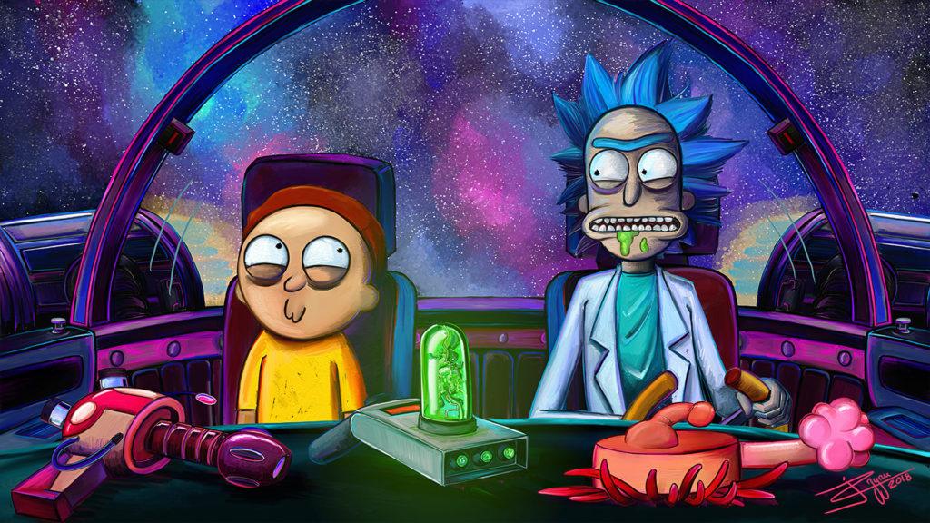 Rick And Morty Computer Wallpaper