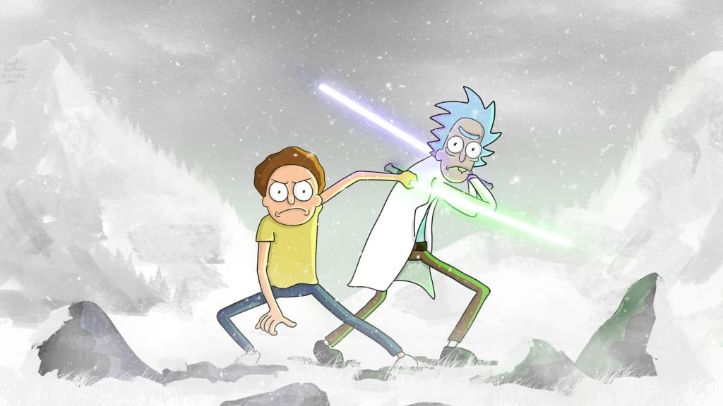 Rick And Morty Computer Wallpapers