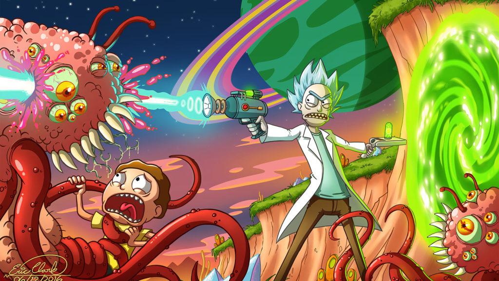 Rick And Morty Desktop Wallpapers