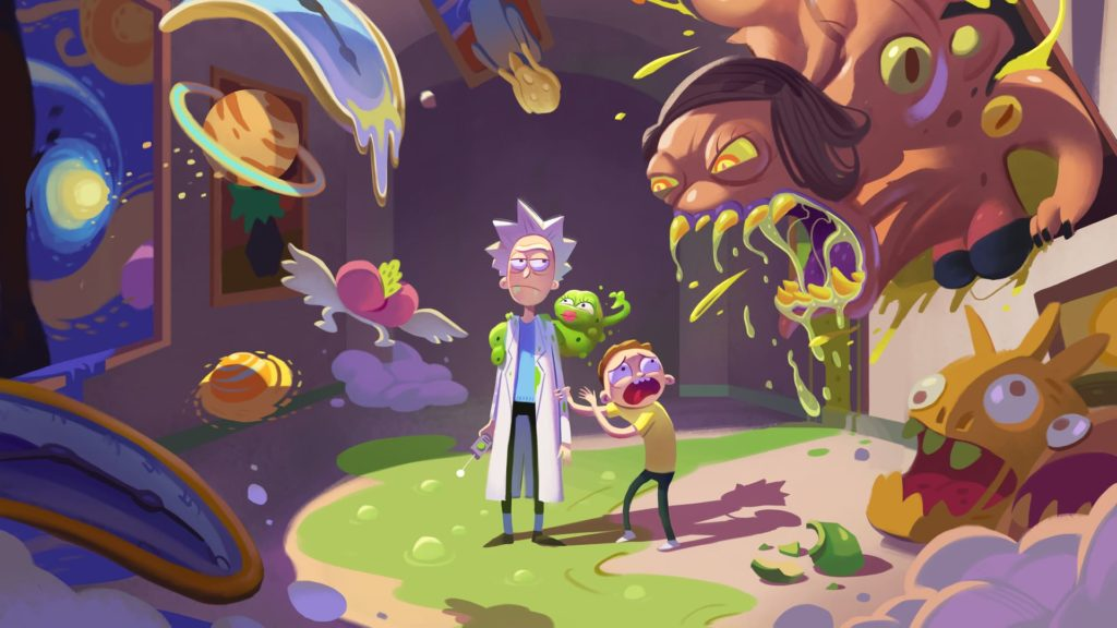 Rick And Morty Laptop Wallpaper