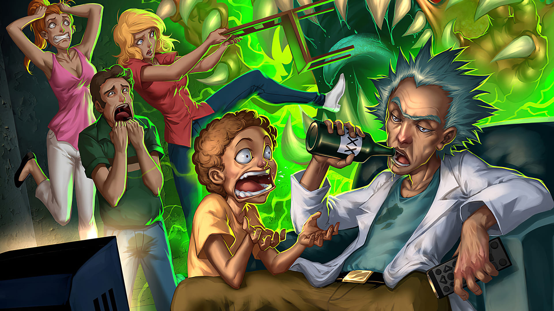 Rick And Morty Wallpapers Top 4k Backgrounds Download 100 Hd