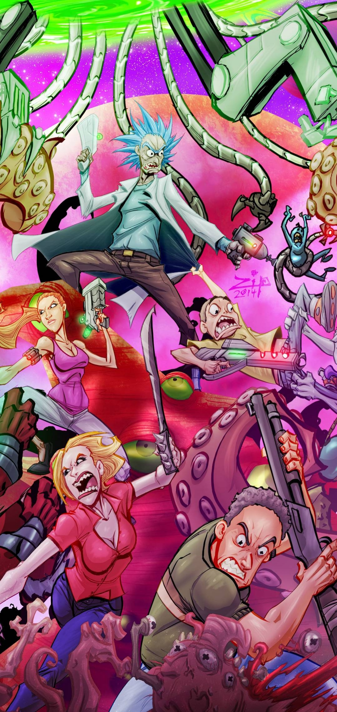 Rick And Morty Wallpapers - Top 4k Backgrounds Download ...