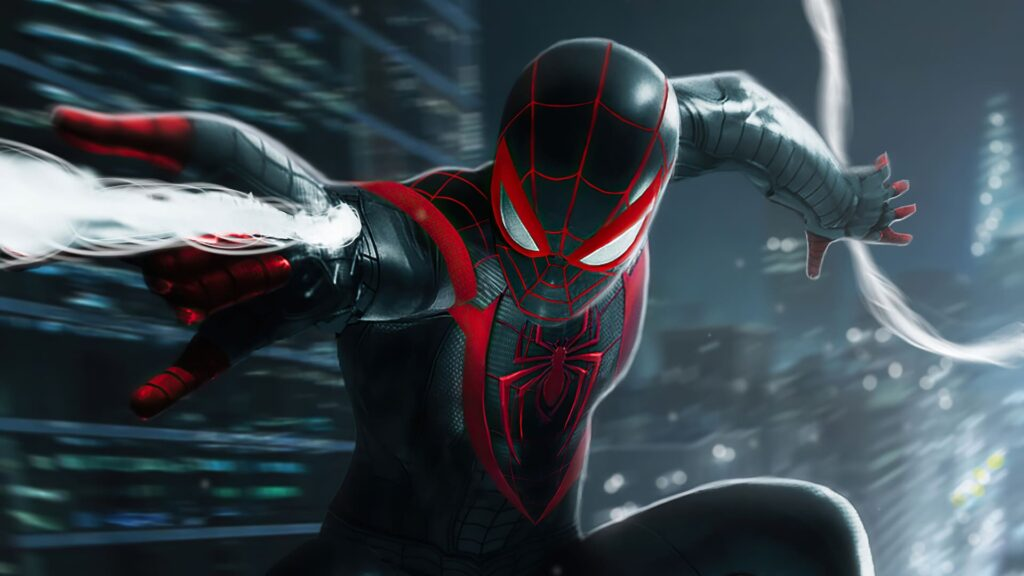 Spider Man Miles Morales Laptop Wallpaper