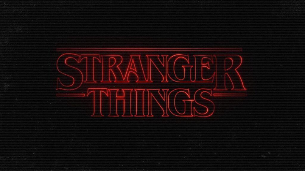 stranger things background for desktop