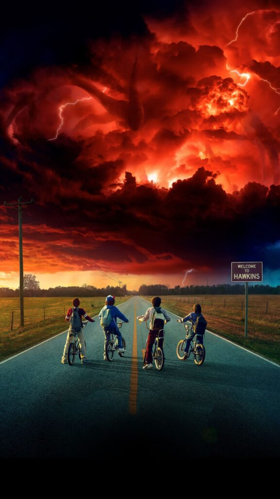 stranger things background hd