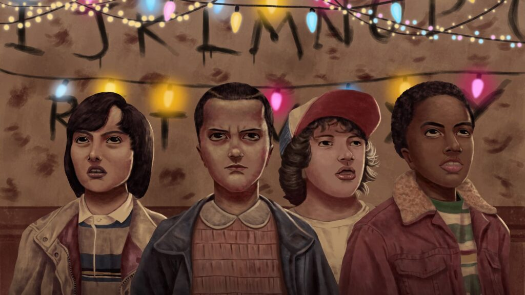Stranger Things Computer Wallpaper