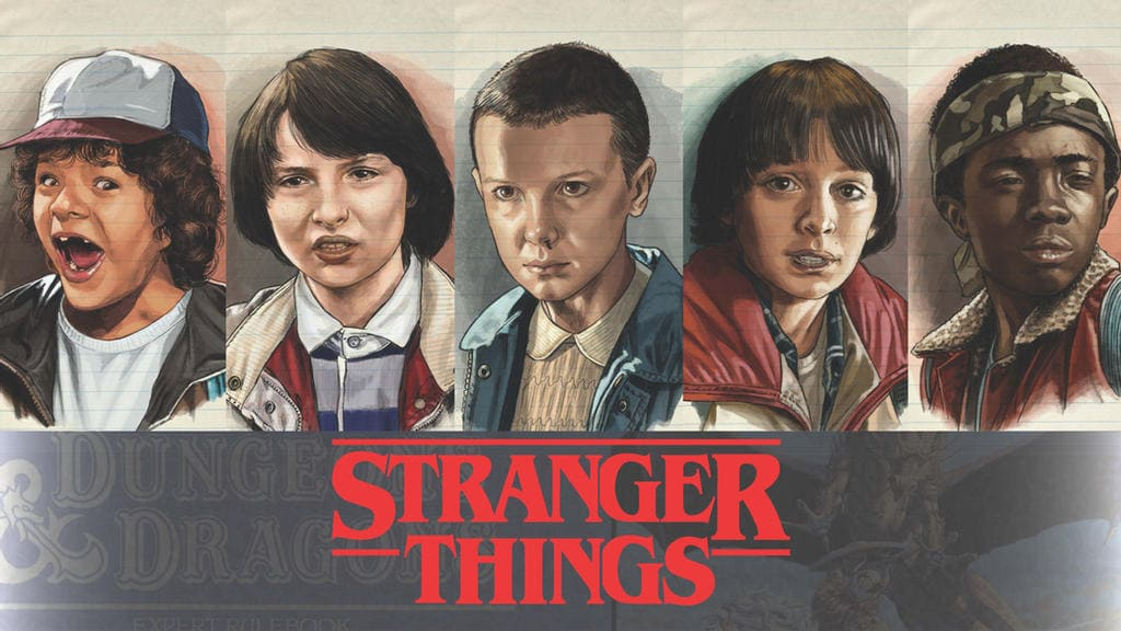 stranger things laptop wallpaper 4k