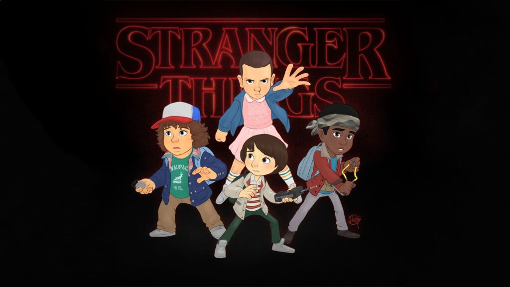 Stranger Things Wallpaper For Computer