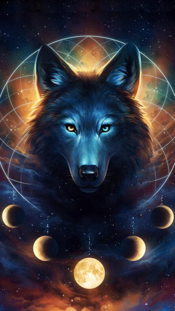 wolf 4k photo