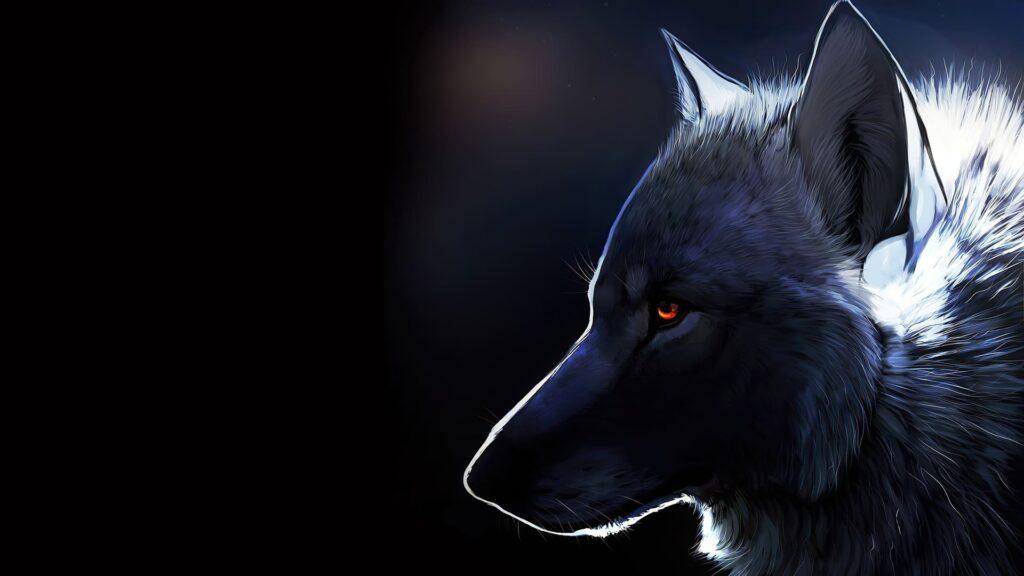 Wolf Dektop Background