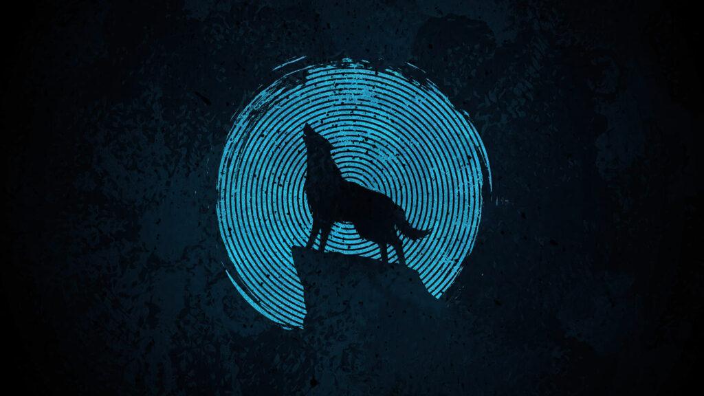 Wolf Laptop Wallpaper 4k