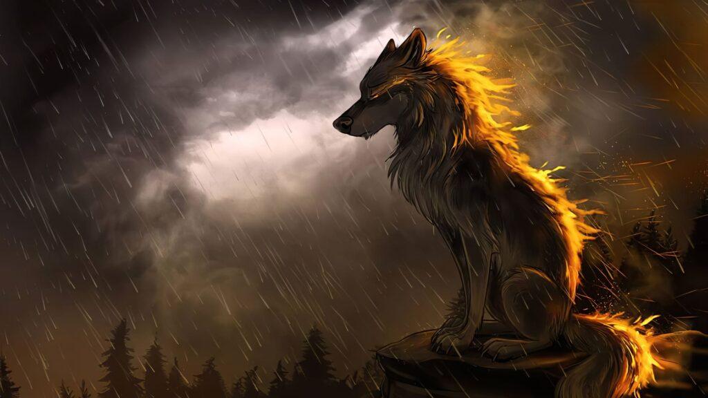 Wolf Pc Background