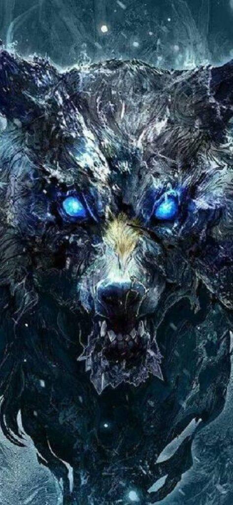 Wolf Iphone 11 Pro Wallpaper