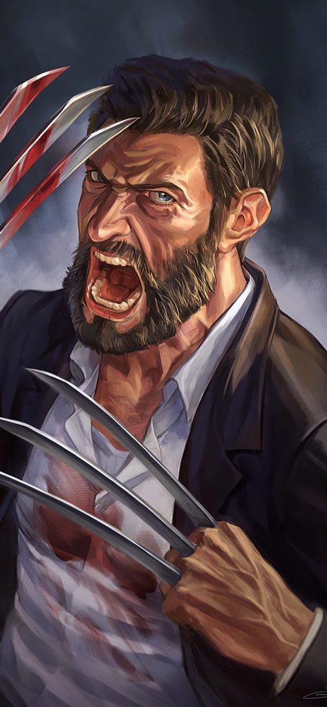 Wolverine Android Wallpaper