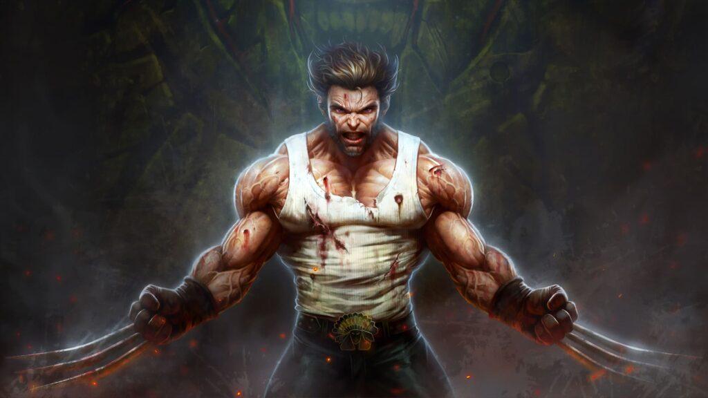 Wolverine Desktop Background