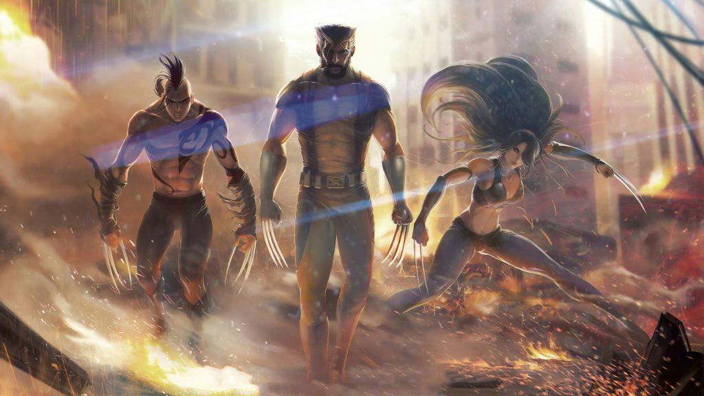 Wolverine Desktop Wallpaper