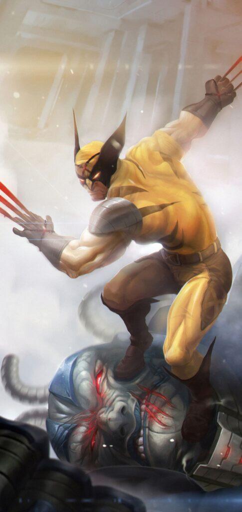 Wolverine Phone Wallpaper