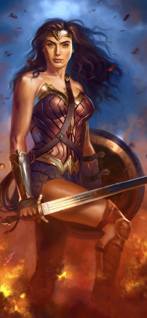 Wonder Woman Backgrounds