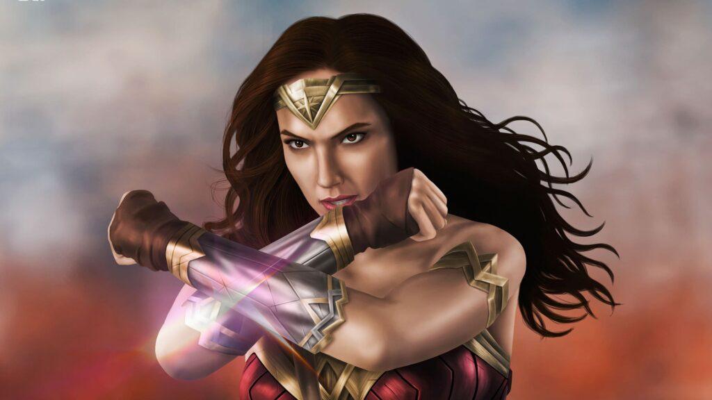 Wonder Woman Computer Background