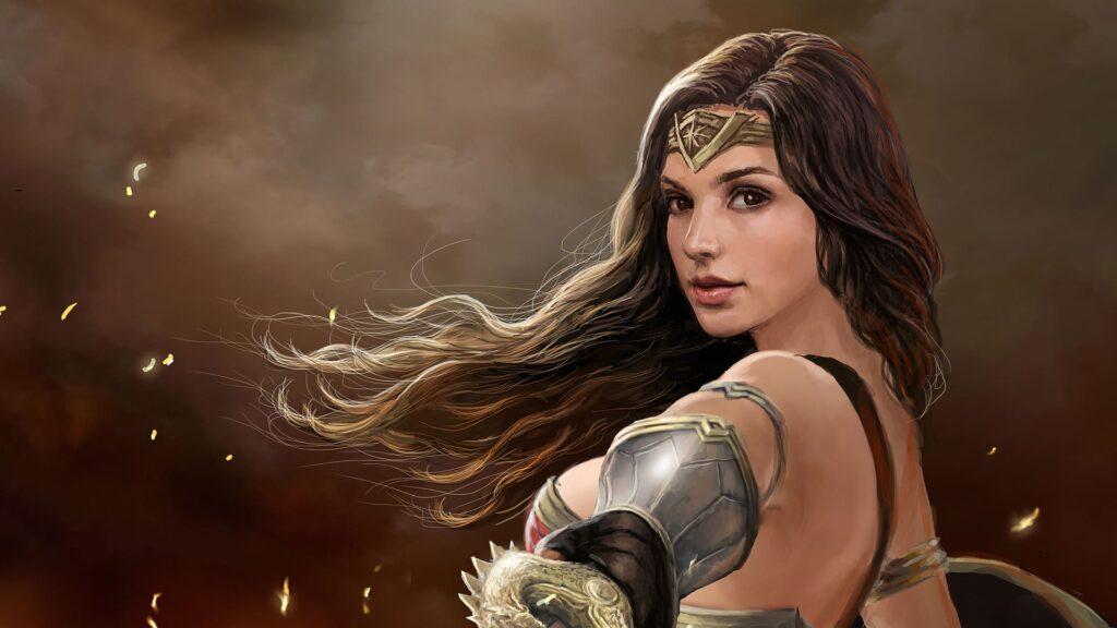 Wonder Woman Desktop Background