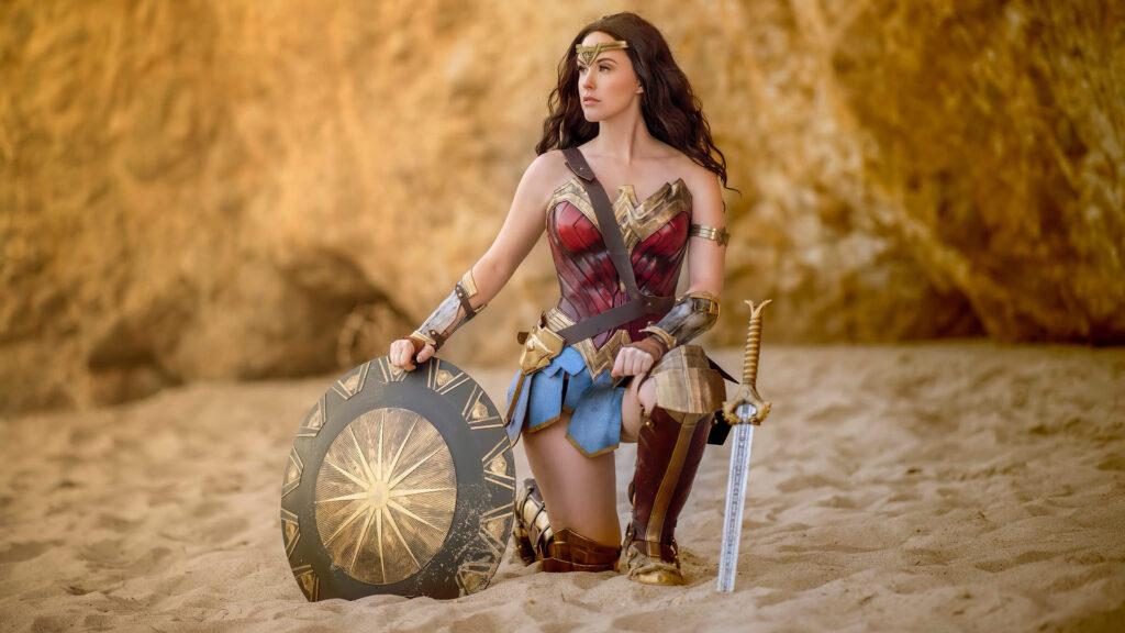 Wonder Woman Laptop Background