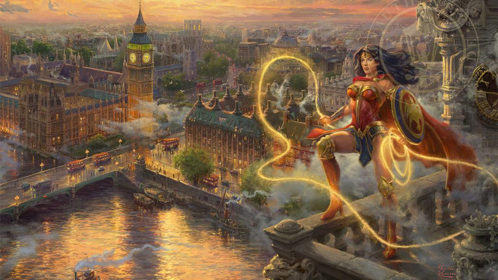Wonder Woman Mac Wallpaper