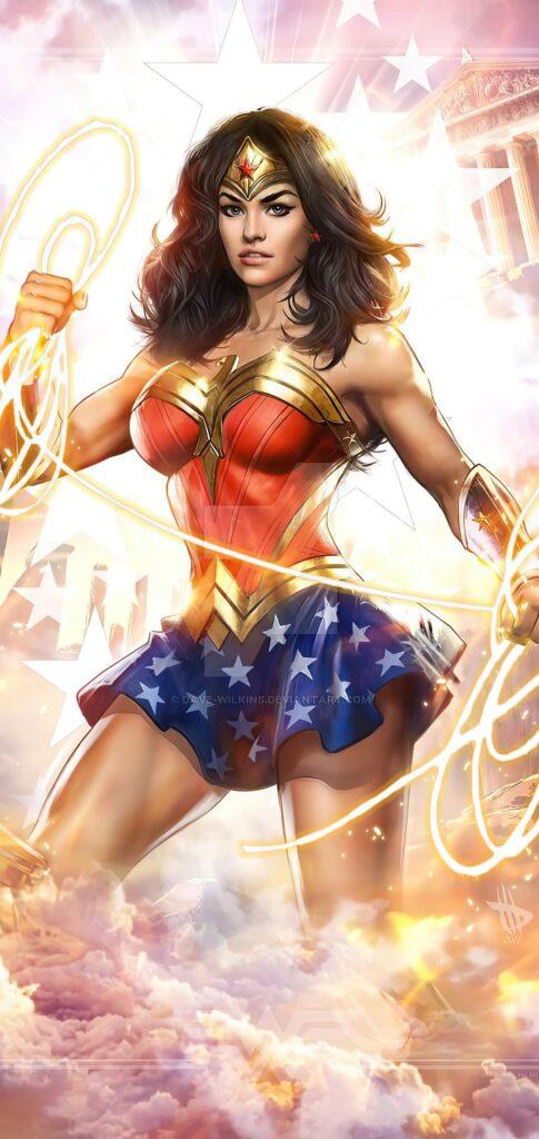 Wonder Woman Mobile Wallpaper