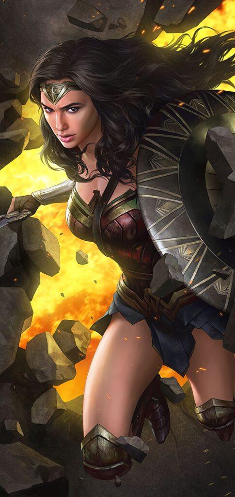 Wonder Woman Wallpaper For 4k