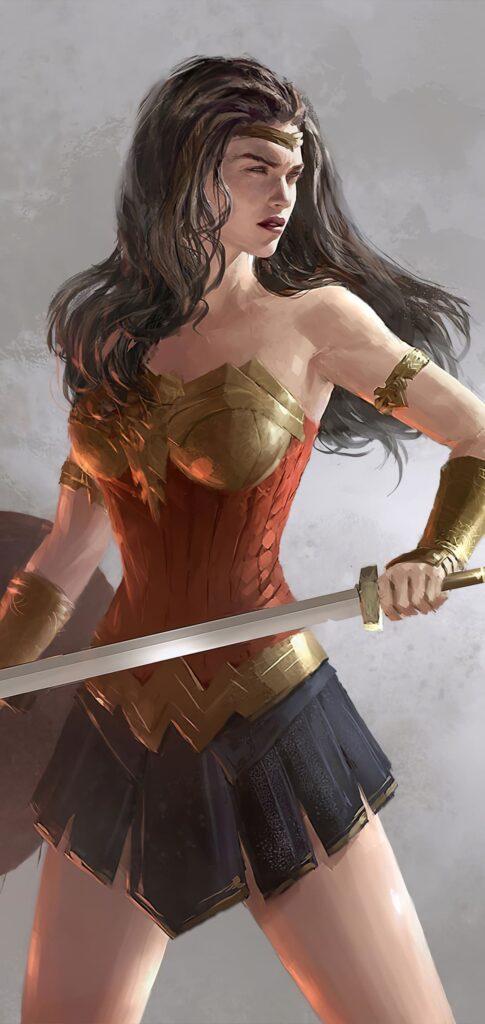 Wonder Woman Wallpaper For Phone
