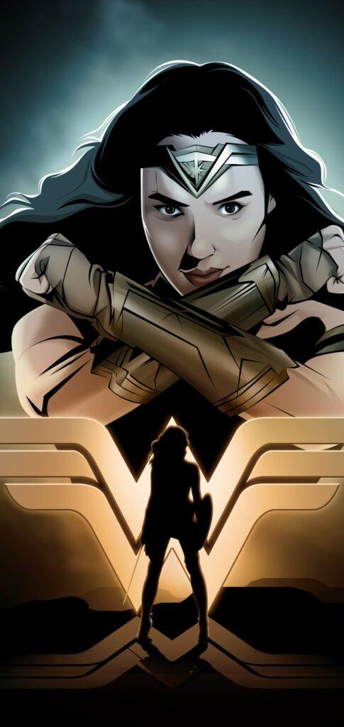 Wonder Woman Wallpaper For Iphone