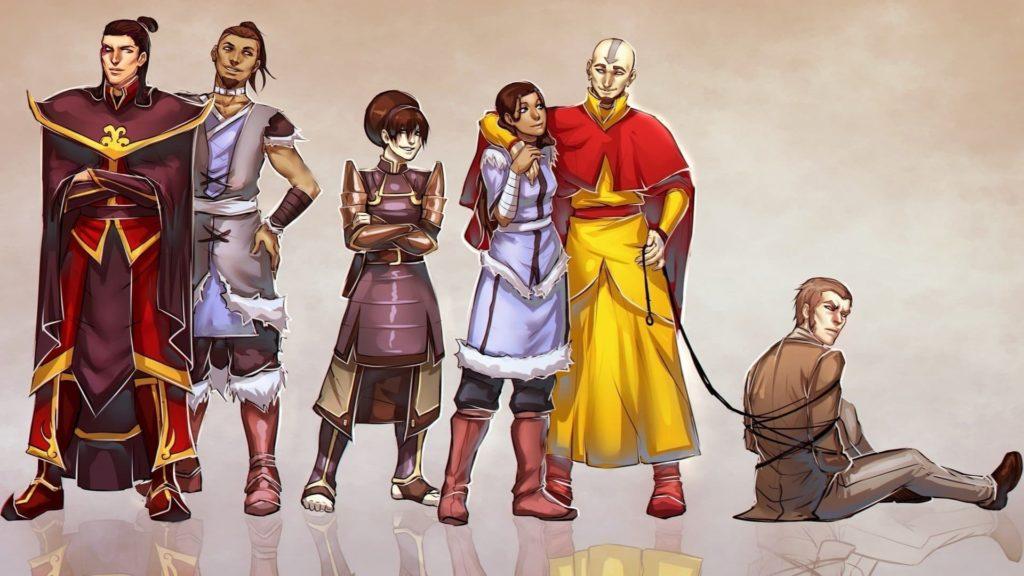 Avatar The Last Airbendar Desktop Wallpaper