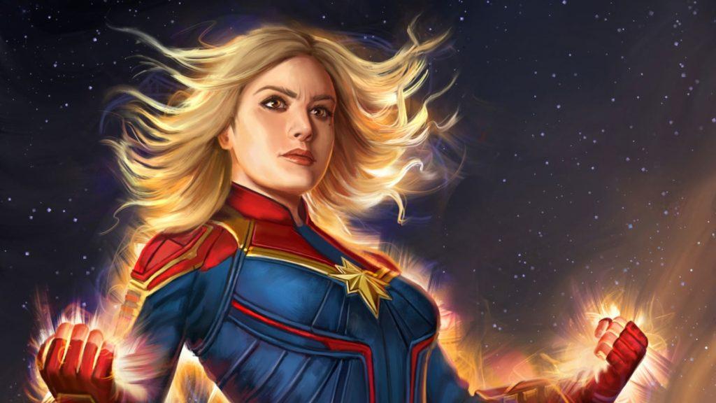 Best Captain Marvel Desktop Wallpapers