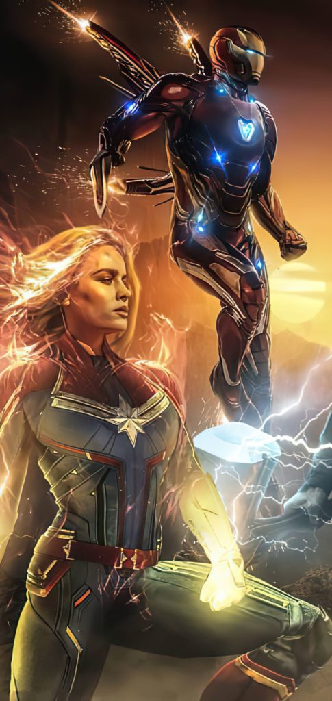 Captain Marvel Background