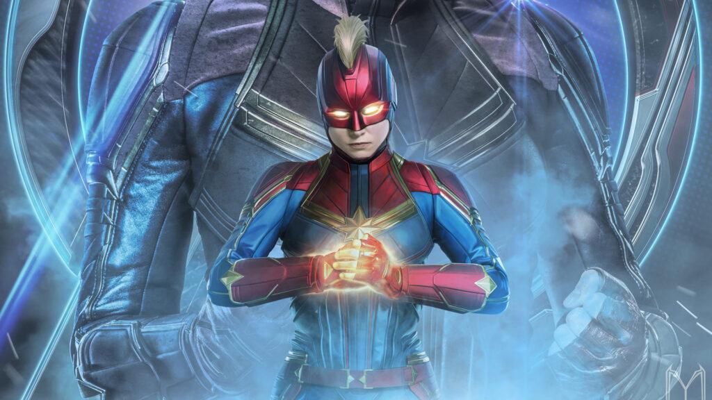 Captain Marvel For Desktop Wallpaper