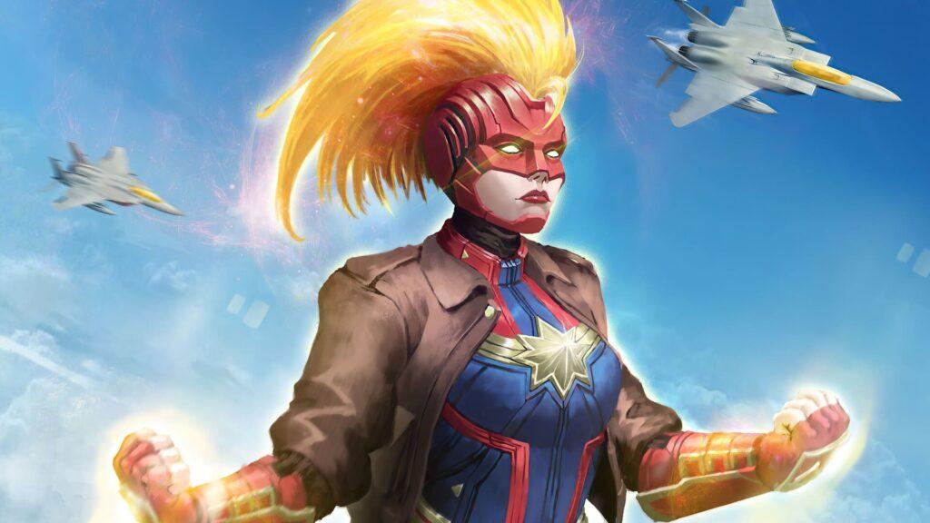 Captain Marvel For Desktop Wallpaper 4k