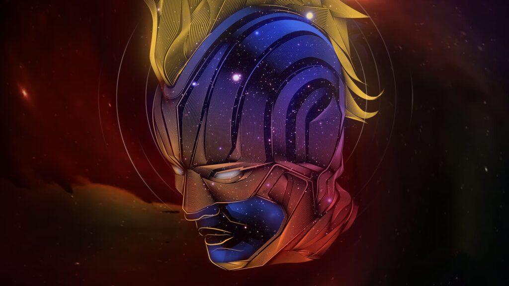Captain Marvel For Laptop Wallpaper Hd