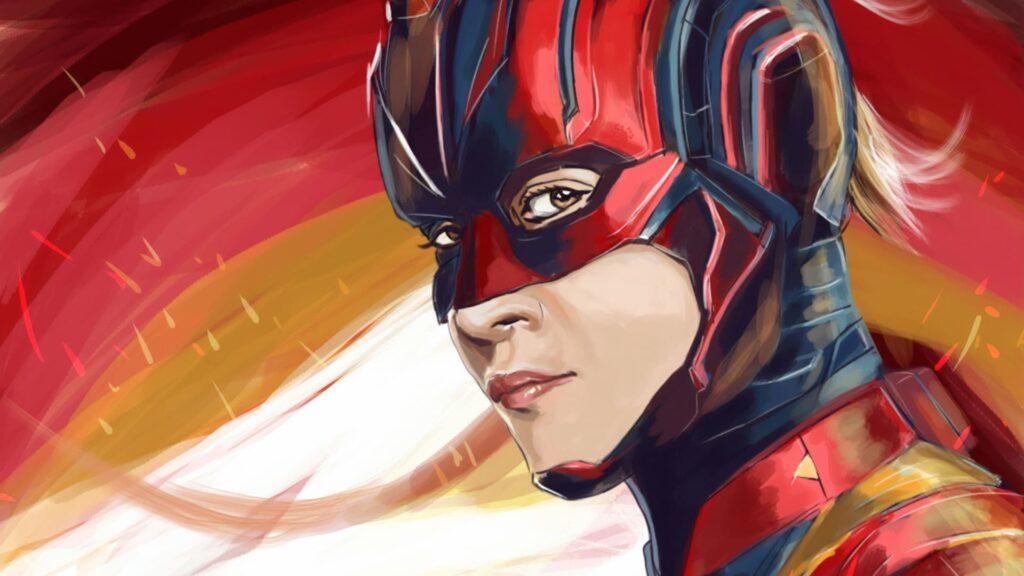 Captain Marvel For Pc Wallpaper