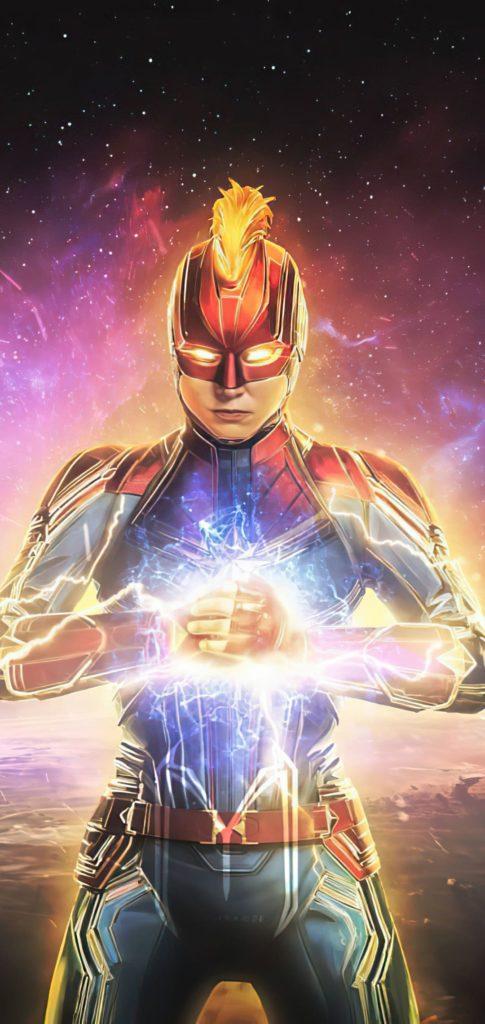 Captain Marvel Wallpaper 2020