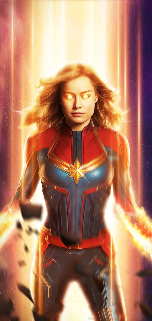Captain Marvel Wallpaper 4k