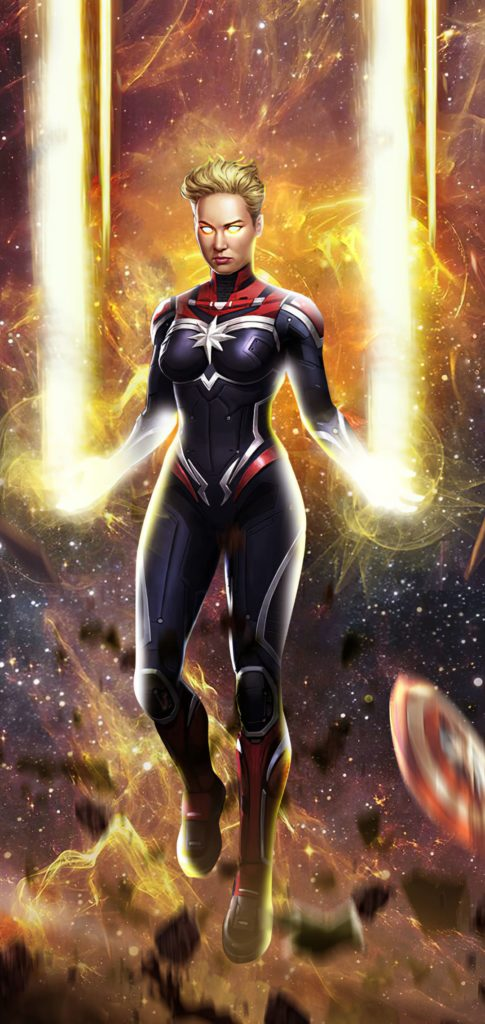 Captain Marvel Wallpaper Android