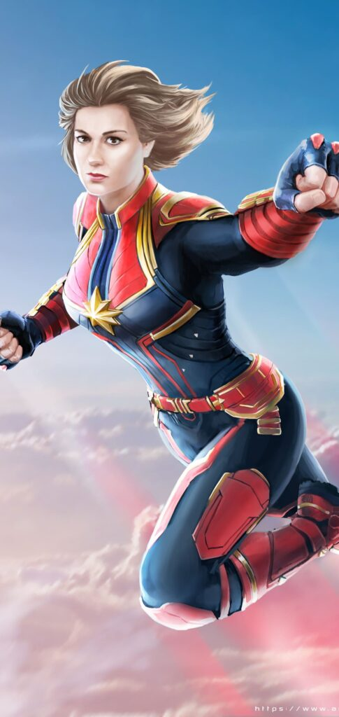 Captain Marvel Wallpaper For Android