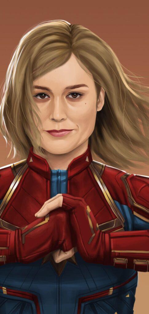 Captain Marvel Wallpaper For Mobile