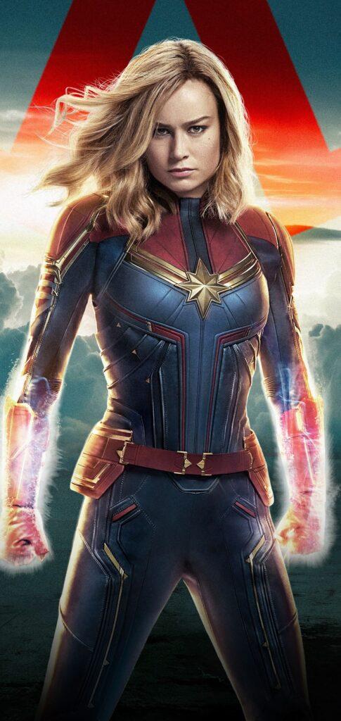 Captain Marvel Wallpaper For Phone