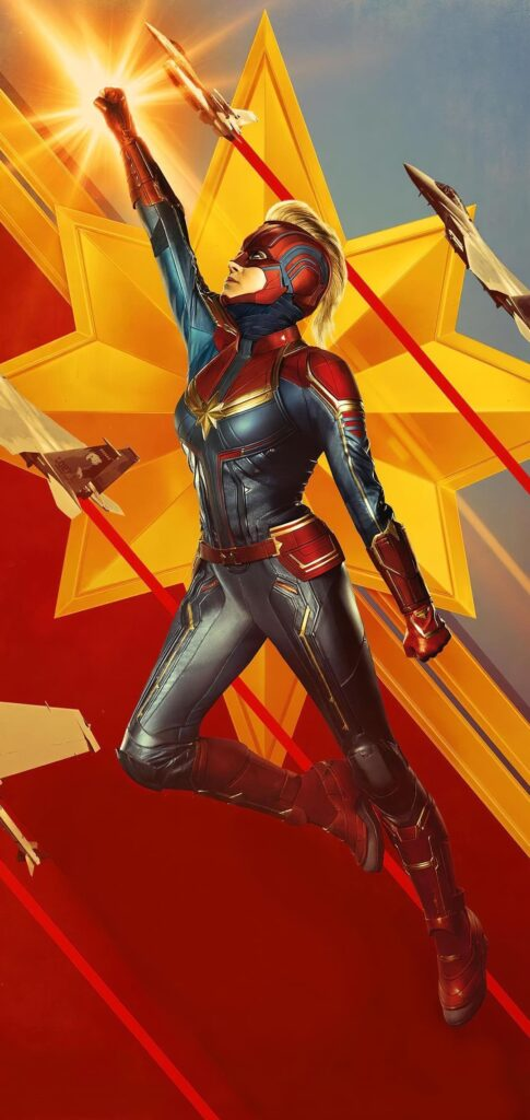 Captain Marvel Wallpaper For Iphone 11 Max Pro