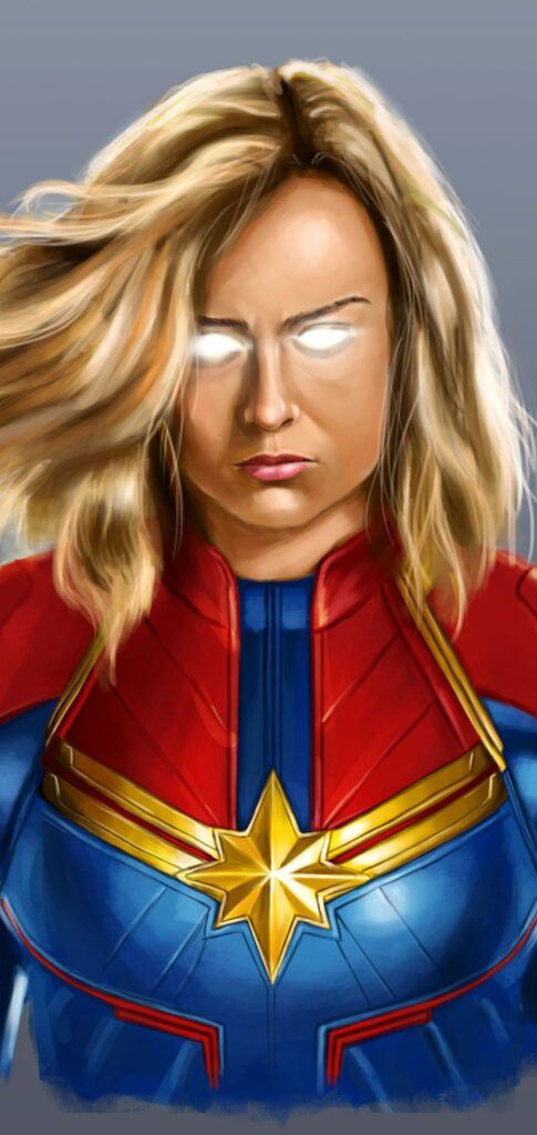 Captain Marvel Wallpaper For Iphone