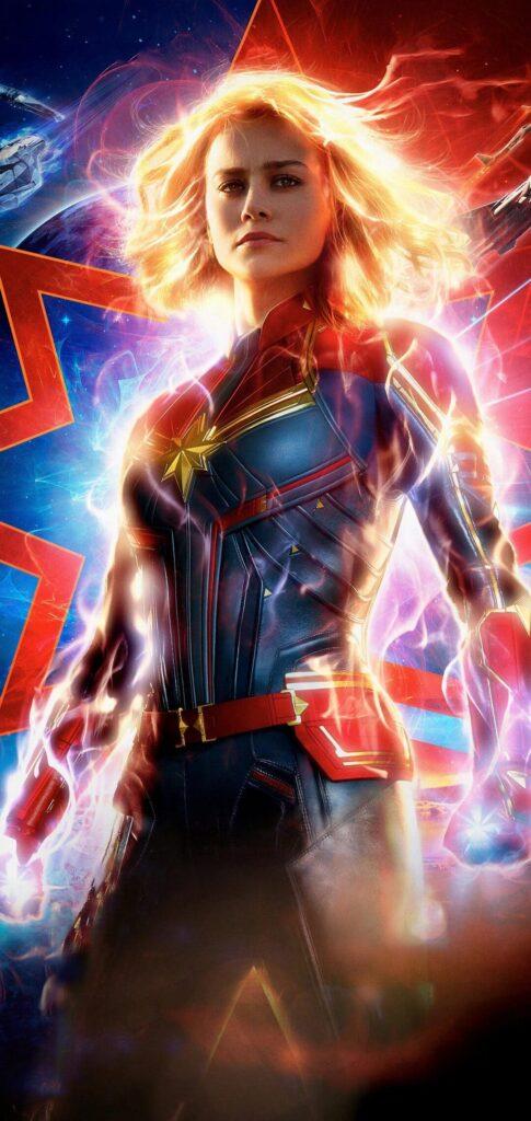 Captain Marvel Wallpaper For Iphone Xr